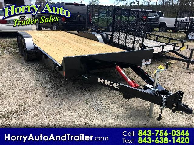 2017 Rice Full Tilt 20 ft car hauler