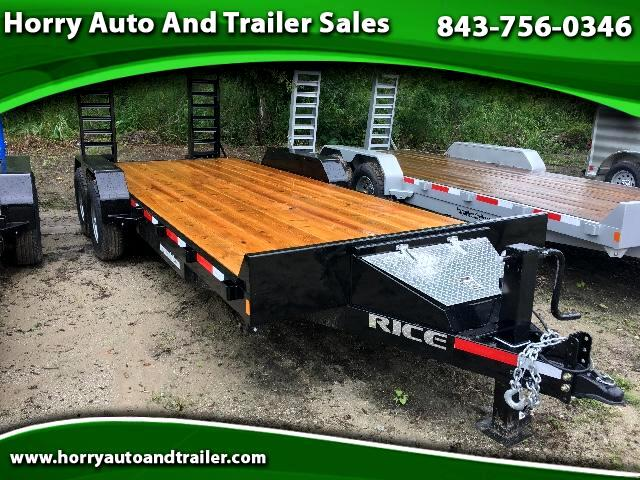 2017 Rice FMEH8220 20 ft equiptment hauler
