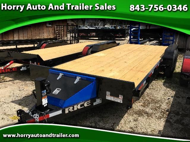 2017 Rice FMEH8220 20ft equipment hauler