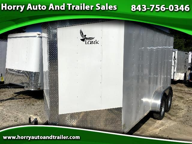 2017 Lark 7X14 TA v nose ramp door
