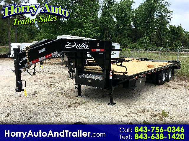 2017 Delta Trailer 210 Goose Neck deck over 25ft