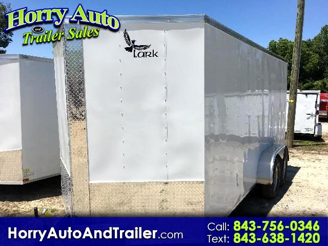 2017 Lark 7X16 TA v nose ramp door 6 inch extra height