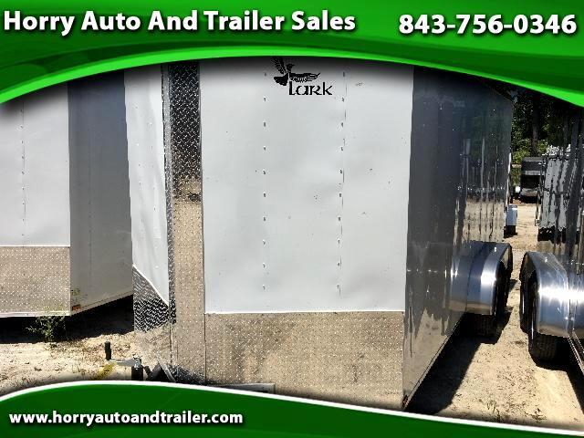 2017 Lark 7X16 TA v nose ramp door 6 inch extra height