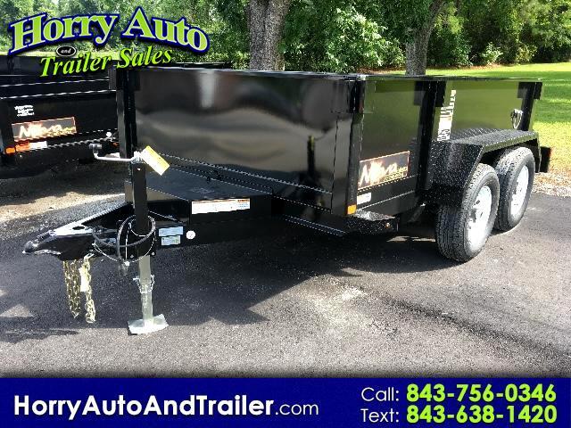 2017 Midsota Nova DT 10 ft dump trailer