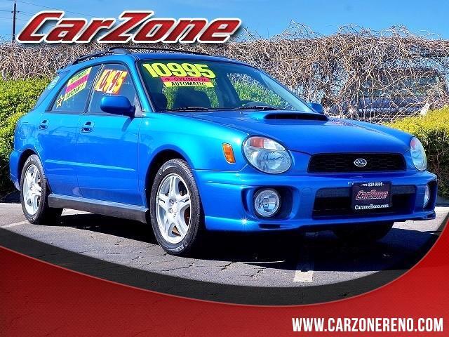 2002 Subaru Impreza Wagon WRX