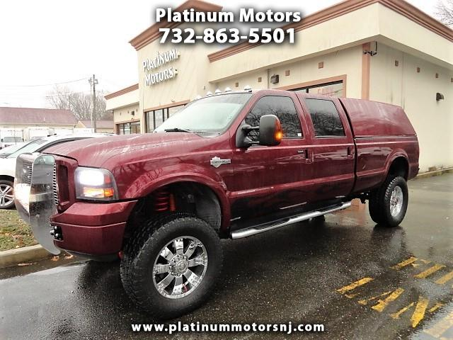 2006 Ford F-350 SD HARLEY DAVIDSON XLT CREW CAB LONG BED 4WD