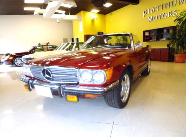 1972 Mercedes-Benz 450 SL