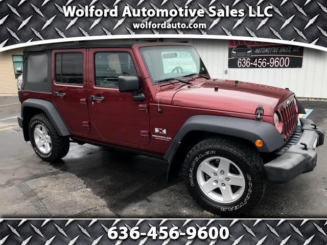 2007 Jeep Wrangler Unlimited X 2WD