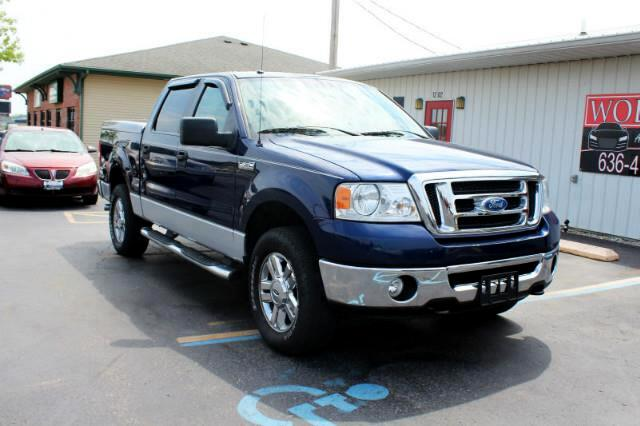 2008 Ford F-150 4WD XLT SuperCrew