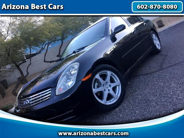 2004 Infiniti G35 Sport Sedan with Leather