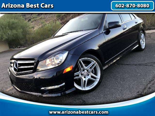 2013 Mercedes-Benz C-Class C250 SPORT SEDAN WITH TURBO /AMG