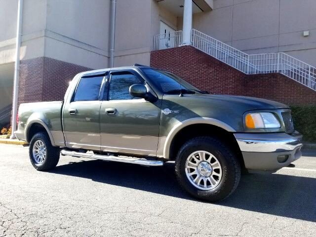 "2003 Ford F-150 4WD SuperCrew 157"" King Ranch"