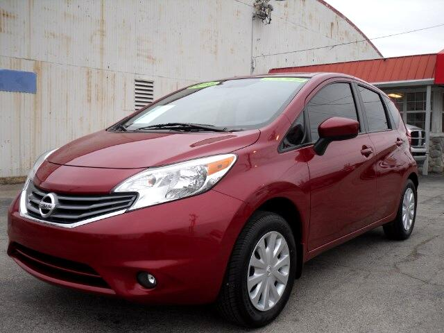 2015 Nissan Versa Note S 5MT