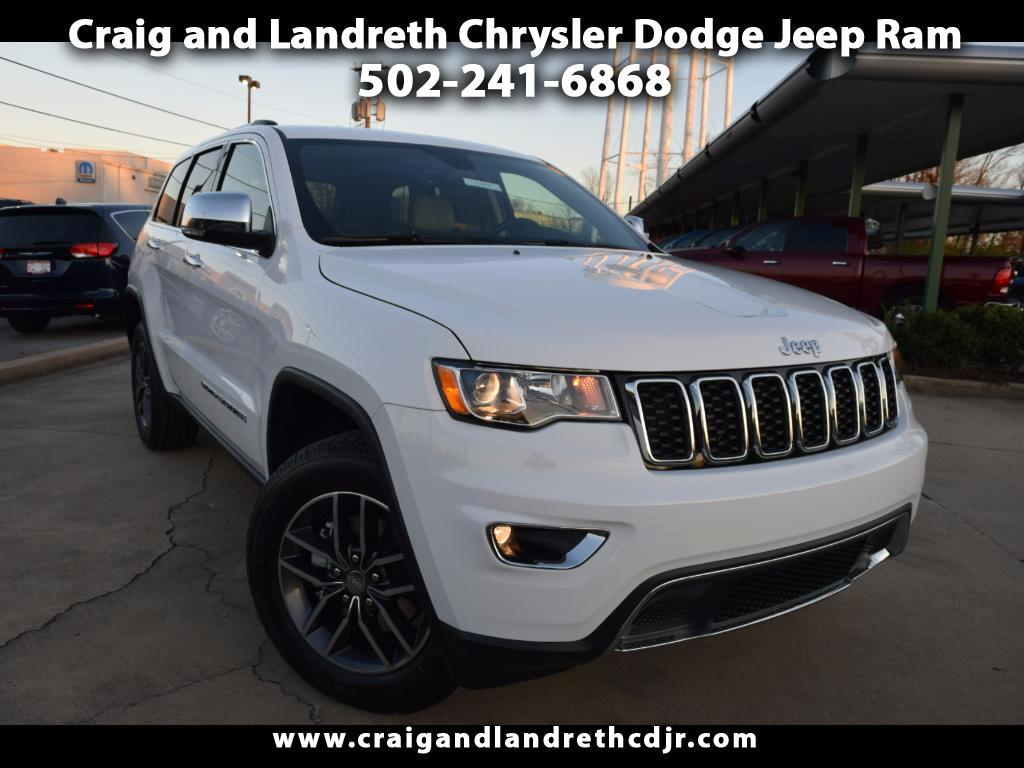new 2018 jeep grand cherokee limited 4x4 for sale in. Black Bedroom Furniture Sets. Home Design Ideas