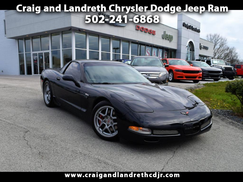 2002 Chevrolet Corvette 2LZ Z06 Coupe