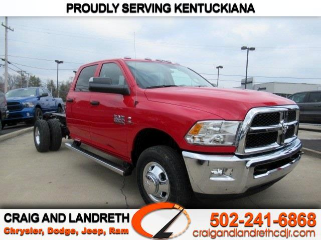 New 2018 RAM 3500 Chassis Cab SLT 4WD CREW CAB 172 in WB