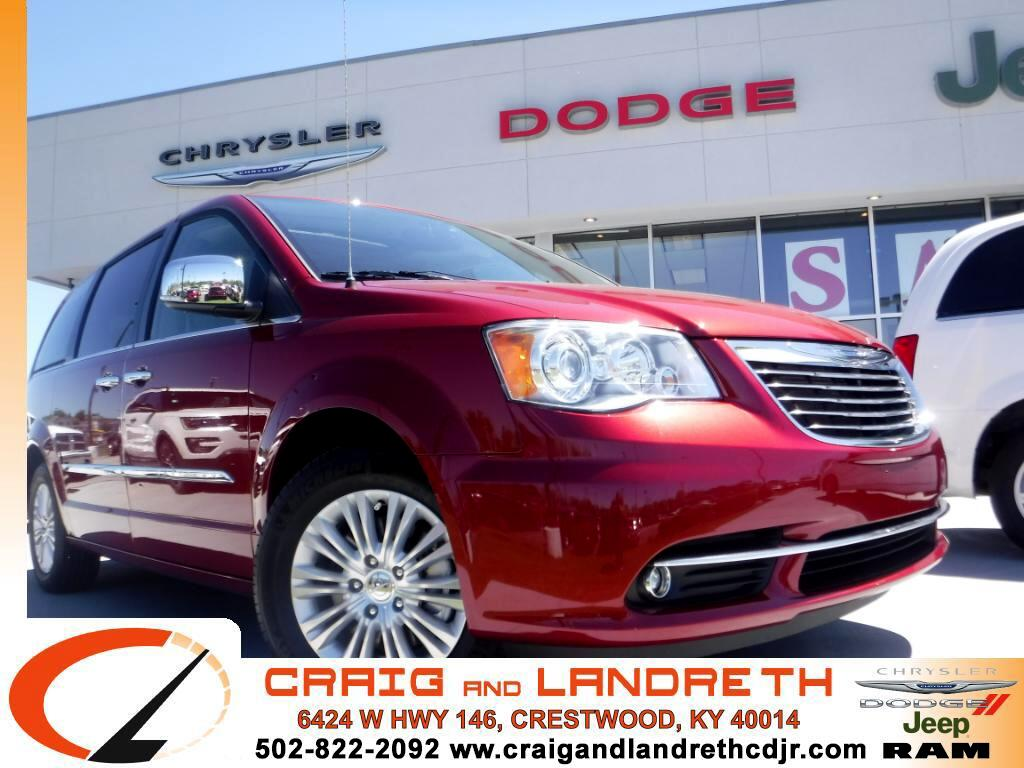 2015 Chrysler Town & Country Limited Platinum