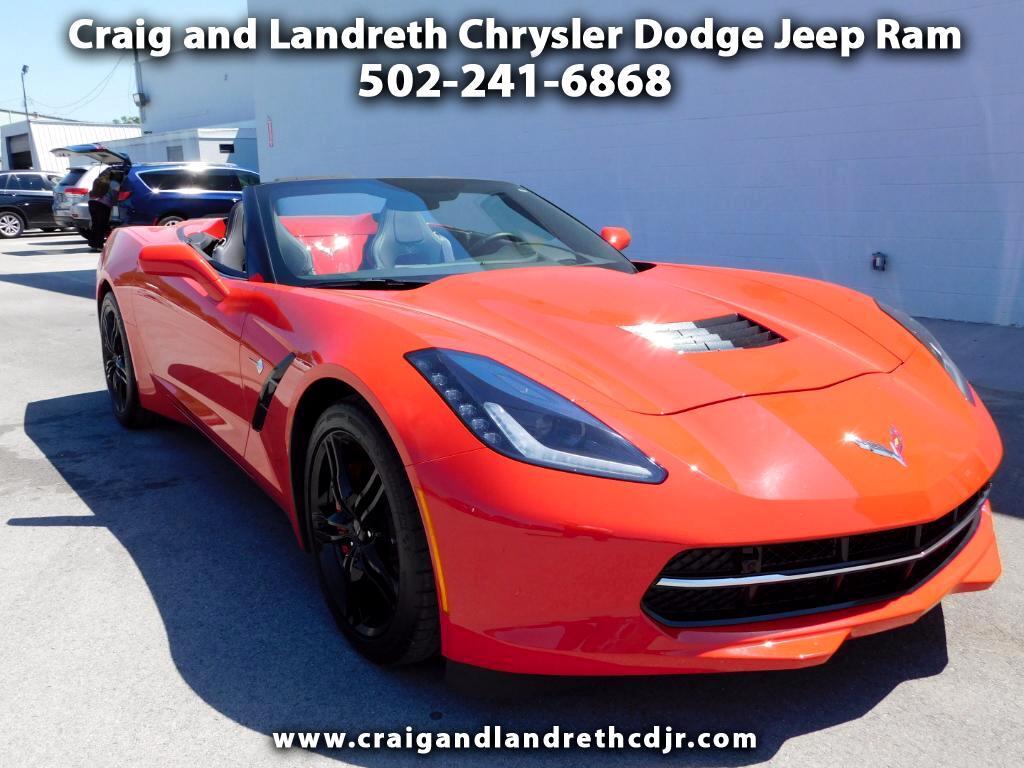 2016 Chevrolet Corvette 2LT Convertible