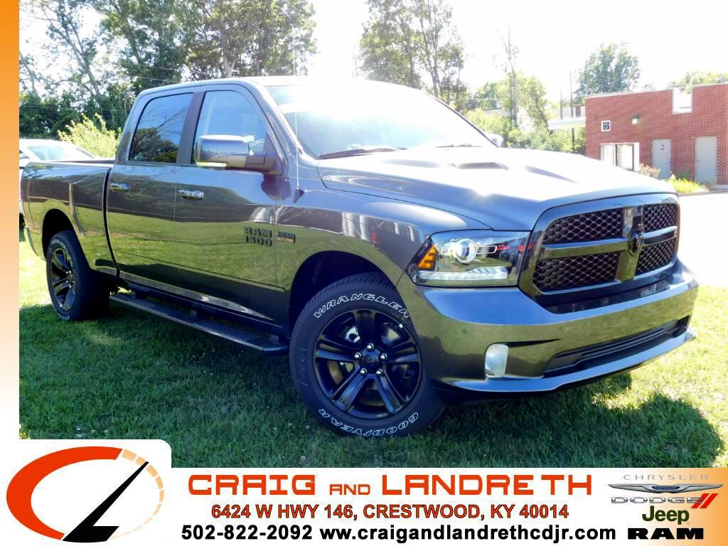 2017 RAM 1500 Night Edition Crew Cab 4x4