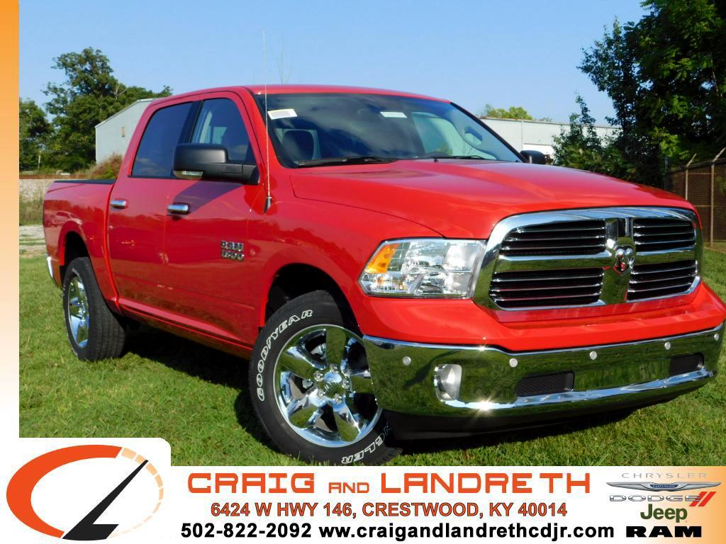 "2017 RAM 1500 Big Horn 4x2 Crew Cab 5'7"" Box"