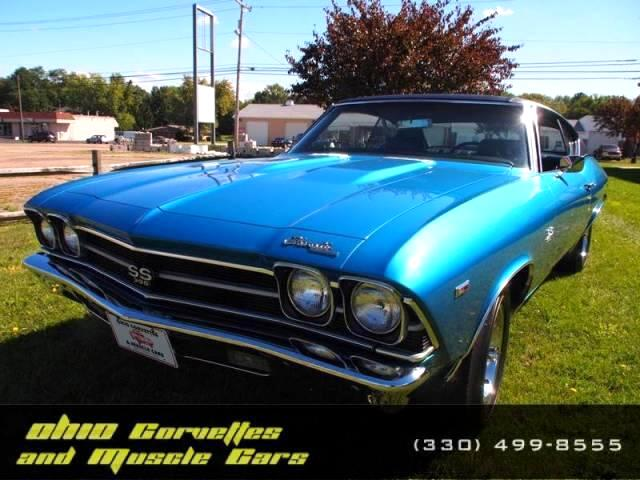 used 1969 chevrolet chevelle sold in north canton oh 44720 ohio corvettes and muscle cars. Black Bedroom Furniture Sets. Home Design Ideas