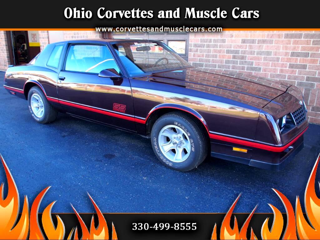 1987 Chevrolet Monte Carlo Aero SS