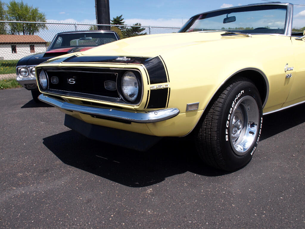 used 1968 chevrolet camaro ss convertible for sale in north canton oh 44720 ohio corvettes and. Black Bedroom Furniture Sets. Home Design Ideas