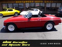 1968 MG Roadster