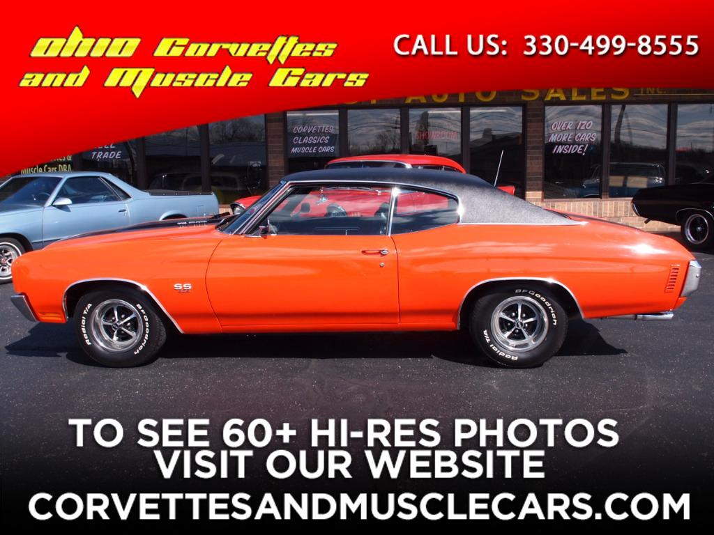 used 1970 chevrolet chevelle sold in north canton oh 44720 ohio corvettes and muscle cars. Black Bedroom Furniture Sets. Home Design Ideas