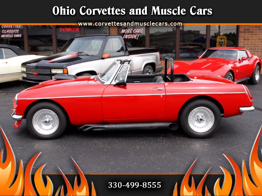 1968 MG B Convertible