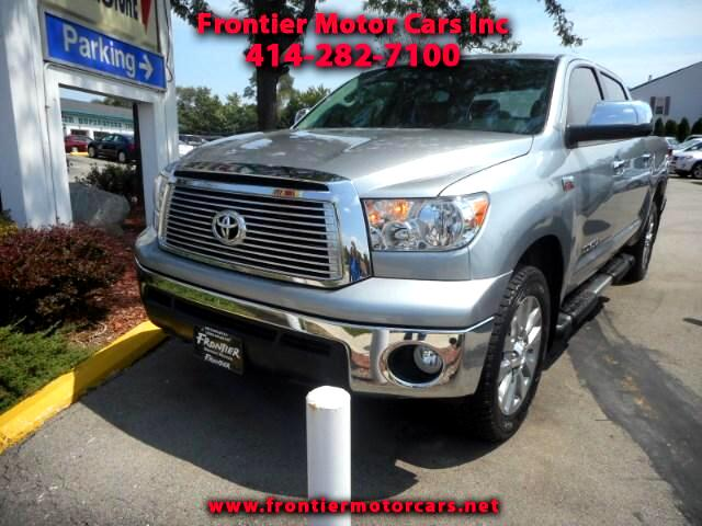 2011 Toyota Tundra 4WD Truck CrewMax 5.7L FFV V8 6-Spd AT LTD (Natl)
