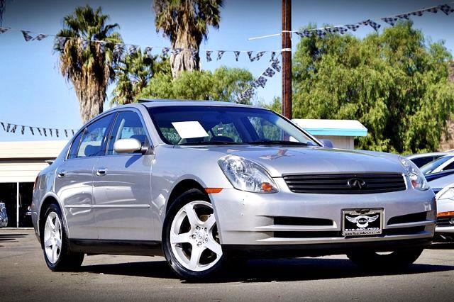 2003 Infiniti G35 Sedan with Leather and 6MT