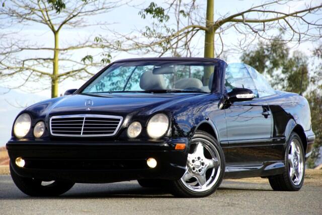 2001 Mercedes-Benz CLK-Class CLK430 Cabriolet