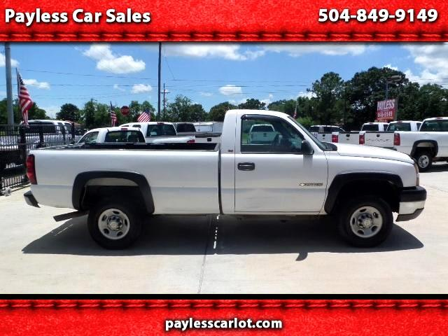 2005 Chevrolet Silverado 2500HD Work Truck Long Bed 2WD