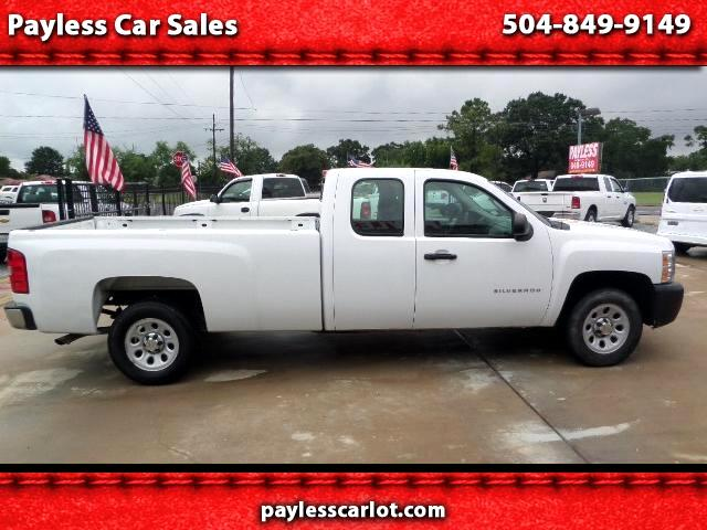 2013 Chevrolet Silverado 1500 Work Truck Ext. Cab Long Bed 2WD