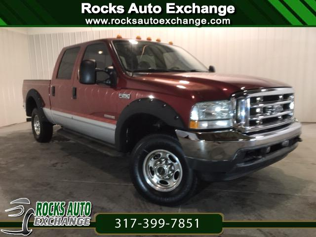 2003 Ford F-250 SD Lariat Crew Cab Long Bed 4WD