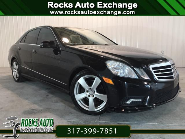 2011 Mercedes-Benz E-Class E350 4MATIC Sedan 4D