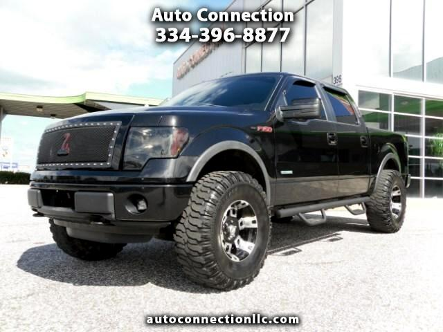 2012 Ford F-150 FX4 SuperCab 5.5-ft. Bed 4WD