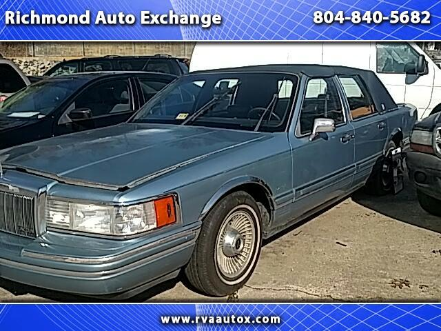 1991 Lincoln TOWN CAR C