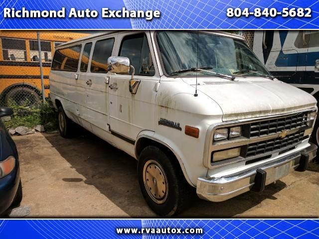 1996 Chevrolet Sport Van G30 Extended