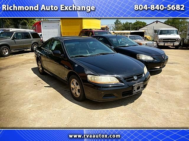2002 Honda Accord EX Coupe with Leather