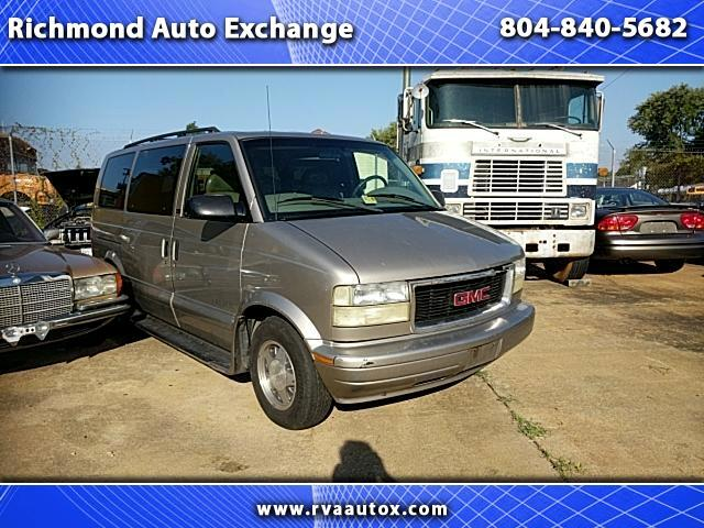 2002 GMC Safari Passenger Van