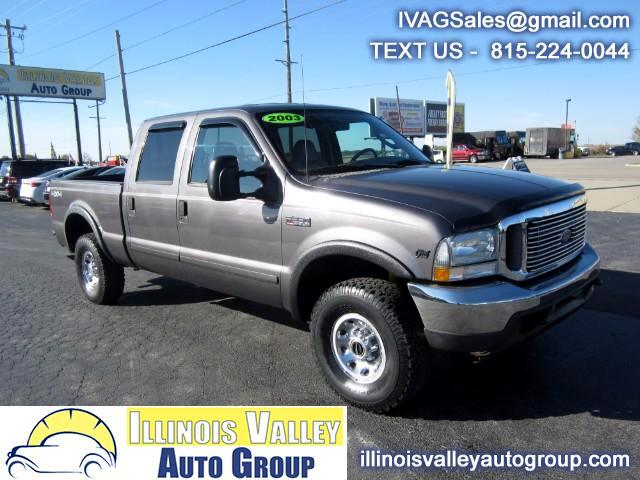 2003 Ford F-250 SD Lariat Crew Cab Short Bed 4WD