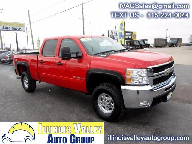 2007 Chevrolet Silverado 2500HD LT Crew Cab Short Bed 4WD