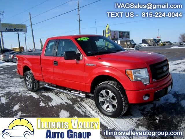 2012 Ford F-150 STX SuperCab Short Bed 4WD