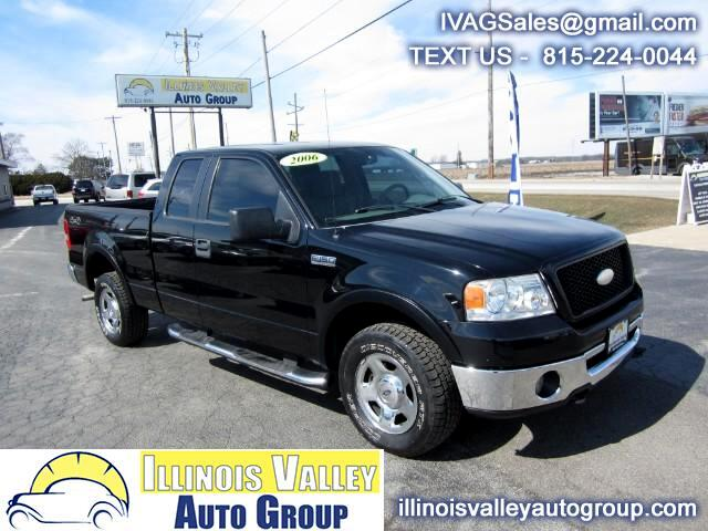 2006 Ford F-150 XLT SuperCab Short Bed 4WD