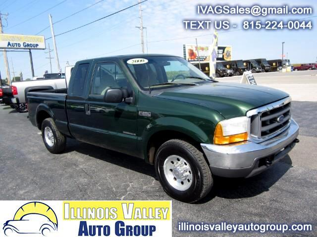 2000 Ford F-250 SD XLT SuperCab 2WD