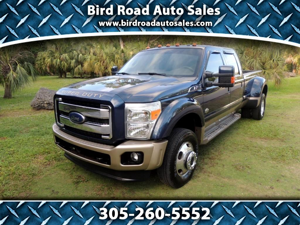 2013 Ford F-450 SD King Ranch Crew Cab DRW 4WD