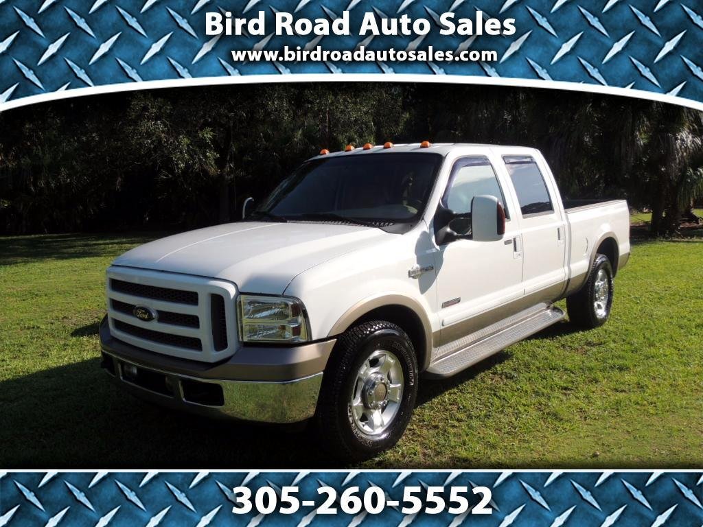 2007 Ford F-250 SD King Ranch Crew Cab 2WD