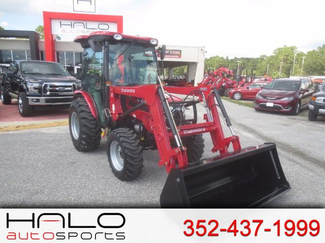 2017 Mahindra 2538 4WD HST Cab FRONT END LOADER